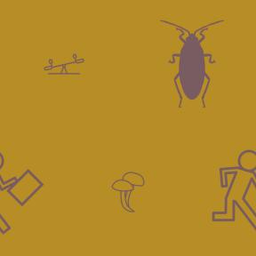 Pattern Design - #IconPattern #PatternBackground #Late #hurry #run #autumn #park #fall #children #vegetarian #cockroaches #organic