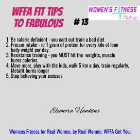 WFFA Fit Tips #13