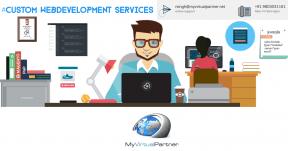 My Virtual partner Webdevelopment services