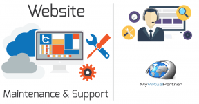 My Virtual partner Website Support & Maintenance