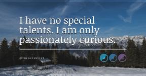 Quote Card Design - #Quote #Saying #Wording #background #brand #crescent #circle #aqua #landforms #wilderness #blue