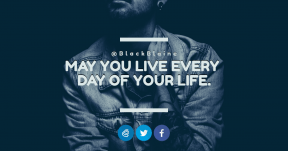 Quote Card Design - #Quote #Saying #Wording #shot #art #logo #product #blue #font #jacket