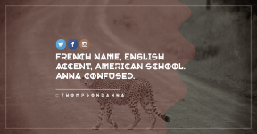 Quote Card Design - #Quote #Saying #Wording #icon #animal #font #feline #raggedborders