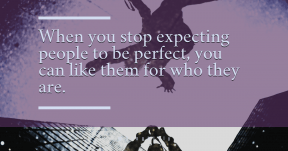 Quote Card Design - #Quote #Saying #Wording #person #snow #photographer #reflections #Puddle #jumping