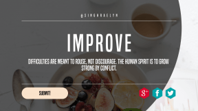 Call to Action Quote Header - #CallToAction #Saying #Quote #Wording #circle #text #rounded #aqua #red #black #cutlery #area #line