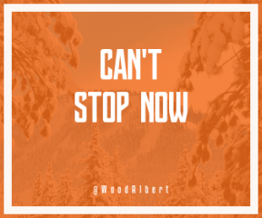 Wording Banner Ad - #Saying #Quote #Wording #wooded #sky #snowy #geological #snow #mountain #tree #massif