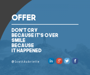 Wording Banner Ad - #Saying #Quote #Wording #standing #blue #signage #tree #essentials #graphics #black #line #font