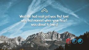 Wording Cover Layout - #Saying #Quote #Wording #red #smile #mountain #blue #line #sky #up #sign #font #arrows