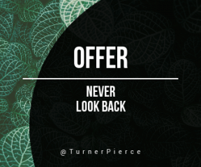 Wording Banner Ad - #Saying #Quote #Wording #black #shapes #organism #leaf #groundcover #circular #view #pattern #plant #circles