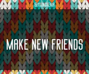 Wording Banner Ad - #Saying #Quote #Wording #woolen #symmetry #thread #textile #design #pattern