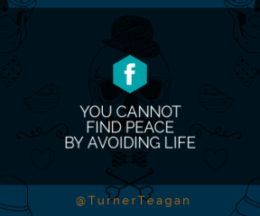Wording Banner Ad - #Saying #Quote #Wording #design #head #font #headgear #drawing #product #skull #face