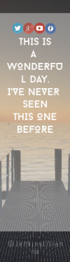 Wording Banner Ad - #Saying #Quote #Wording #font #product #logo #beak #graphics #sunset