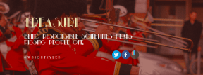 Wording Cover Layout - #Saying #Quote #Wording #font #symbol #art #bugle #bearskin #blue #parade
