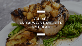 Wording Cover Layout - #Saying #Quote #Wording #with #Grilled #food #signs #sauteed #chop #broccoli #chicken #animal #pork