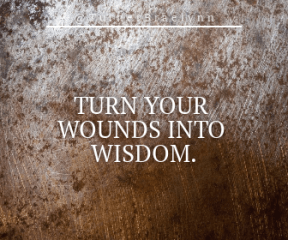 Wording Banner Ad - #Saying #Quote #Wording #soil #texture #rust #wood #brown