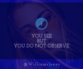 Wording Banner Ad - #Saying #Quote #Wording #eyebrow #nose #hair #symbol #vision #close #organization #face #human