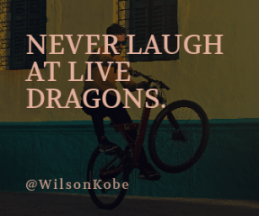 Wording Banner Ad - #Saying #Quote #Wording #bicycle #cycle #wheelie #Bearded #sports #bmx #extreme
