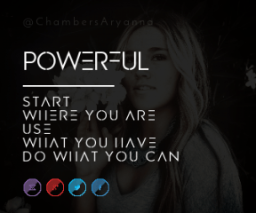 Wording Banner Ad - #Saying #Quote #Wording #near #red #girl #font #azure #organization #violet #circle #area