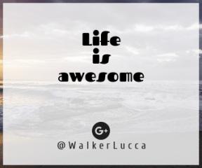 Wording Banner Ad - #Saying #Quote #Wording #ocean #circle #sea #landforms #wave #sunset. #oceanic #social #beach #orange