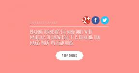 Quote Card Layout - #CallToAction #Quote #Saying #Wording #azure #beak #aqua #line #shapes #graphics #bird #sticker