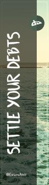 Wording Banner Ad - #Saying #Quote #Wording #symbol #horizon #green #font #landforms #coastal #design #circle