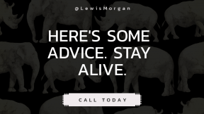 Call to Action Quote Header - #CallToAction #Saying #Quote #Wording #and #elephant #design #graphic #mammal #rhinoceros