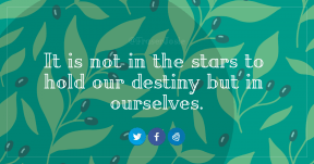 Quote Card Design - #Quote #Saying #Wording #clip #azure #area #green #blue #art