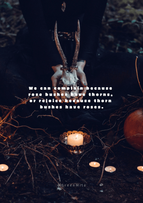 Print Quote Design - #Wording #Saying #Quote #branch #Halloween #computer #with #still #Barczewo #horns #life #pumpkin #close