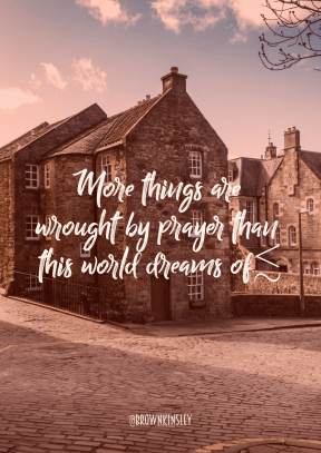 Print Quote Design - #Wording #Saying #Quote #castle #sky #almshouse #home #street #property #estate #town
