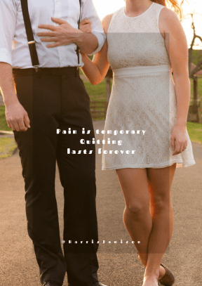 Print Quote Design - #Wording #Saying #Quote #stands #formal #park #walking #couple #holding #each #summer #path
