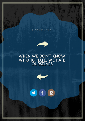 Print Quote Design - #Wording #Saying #Quote #resources #blue #raggedborders #reflection #brown #beak #ovals #right