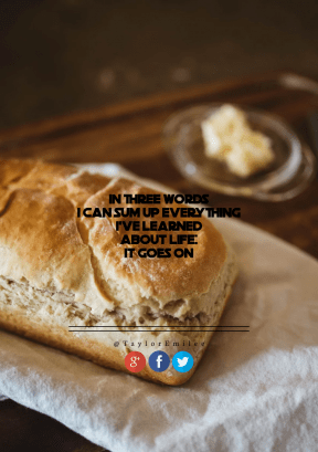 Print Quote Design - #Wording #Saying #Quote #blue #Freshly #symbol #with #font #baked #loaf