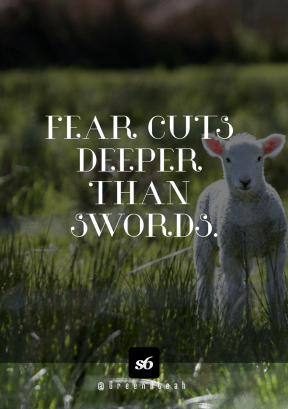 Print Quote Design - #Wording #Saying #Quote #meadow #livestock #white #fence #lamb #font #field #standing