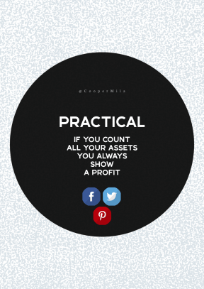 Print Quote Design - #Wording #Saying #Quote #red #monochrome #product #circular