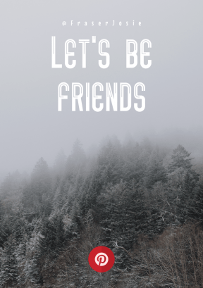 Print Quote Design - #Wording #Saying #Quote #circle #forest #winter #circular #mist