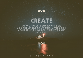 Print Quote Design - #Wording #Saying #Quote #midnight #darkness #atmosphere #dots #of