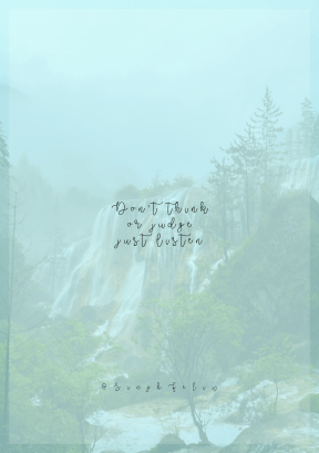 Print Quote Design - #Wording #Saying #Quote #water #waterfalls #nature #hill #waterfall #reserve #body #vegetation #cloudy #park