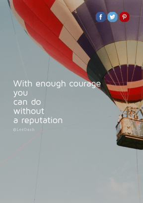 Print Quote Design - #Wording #Saying #Quote #ballooning #symbol #hot #font #brand #balloon #sign