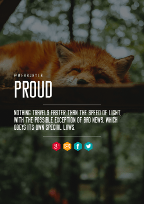 Print Quote Design - #Wording #Saying #Quote #aqua #symbol #fox #mammal #area