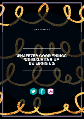 Print Quote Design - #Wording #Saying #Quote #material #shapes #gold #text #shape #geometric