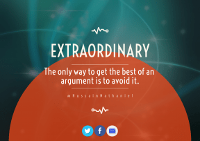 Print Quote Design - #Wording #Saying #Quote #product #atmosphere #symbols #bird #blue #interface #azure #beak