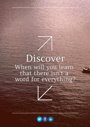 Print Quote Design - #Wording #Saying #Quote #sea #arrows #blue #art #water #up #beak