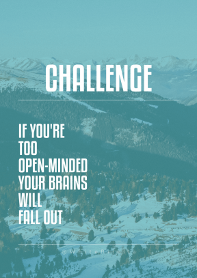Print Quote Design - #Wording #Saying #Quote #winter #massif #mountain #smaller #snow