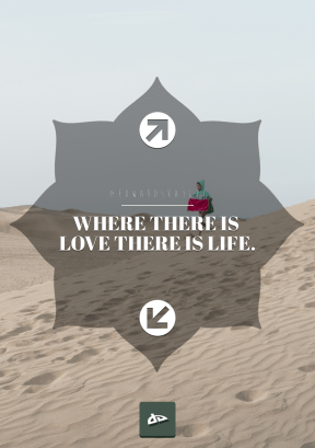 Print Quote Design - #Wording #Saying #Quote #green #shape #circular #rounded #shapes #sahara