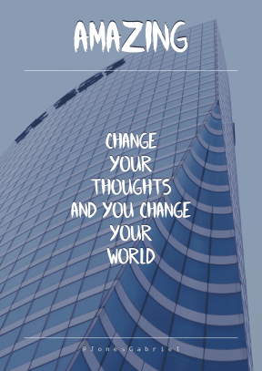Print Quote Design - #Wording #Saying #Quote #building #block #corporate #metropolis #architecture #facade #skyscraper #sky #headquarters