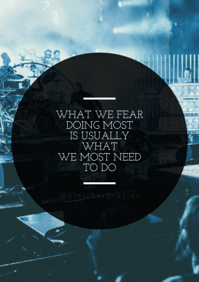 Print Quote Design - #Wording #Saying #Quote #shape #music #drum #computer #visual #circle