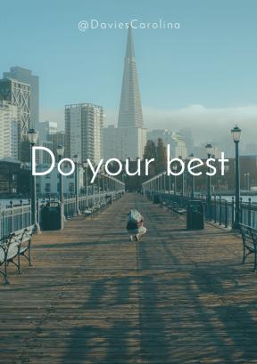 Print Quote Design - #Wording #Saying #Quote #sky #boardwalk #pier #metropolis #downtown #skyscraper #skyline #city