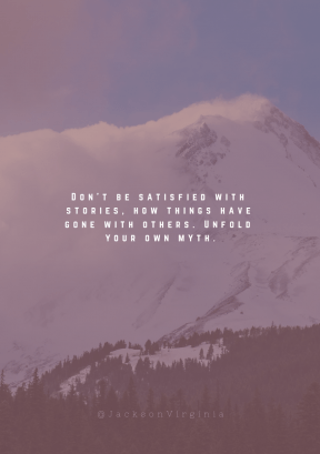 Print Quote Design - #Wording #Saying #Quote #snowy #scenery #partially #mount #Hood #hill