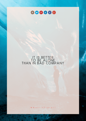 Print Quote Design - #Wording #Saying #Quote #circle #product #blue #aqua #Vatnajökull #area