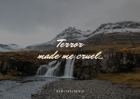 Print Quote Design - #Wording #Saying #Quote #waterfall #pouring #from #station #mountains #feature #fell